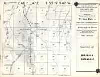 Carp Lake T50N-R42W, Ontonagon County 1959